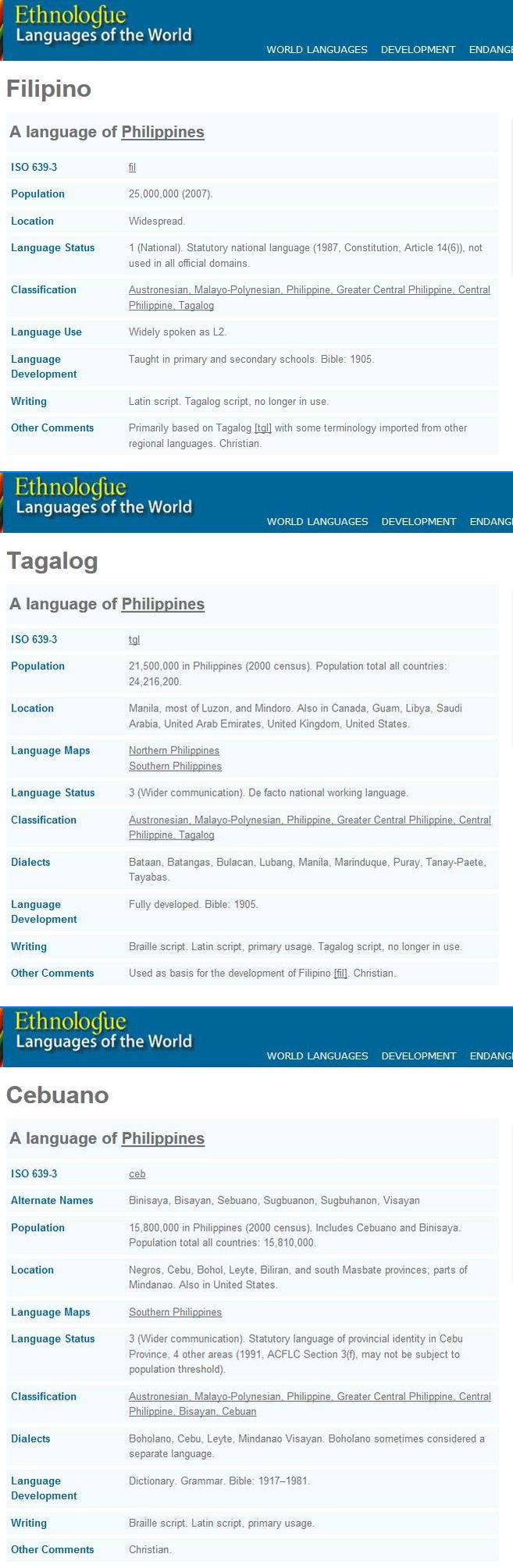 Wer can i find real tagalog essay about our calamity?